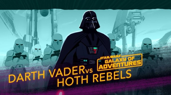 Star Wars: Galaxy of Adventures | Darth Vader vs. Hoth Rebels – Crushing the Rebellion