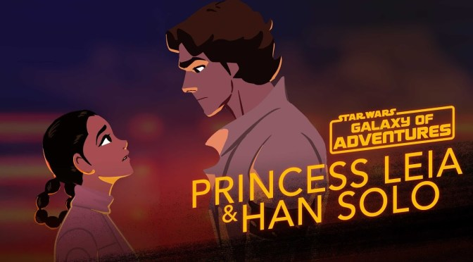 Star Wars: Galaxy of Adventures | Leia and Han - The Han Rescue
