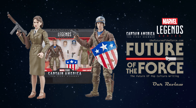 Marvel Legends Review | Captain America & Peggy Carter (Captain America: The First Avenger)