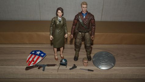 Marvel Legends Review | Captain America & Peggy Carter (Captain America: The First Avenger)