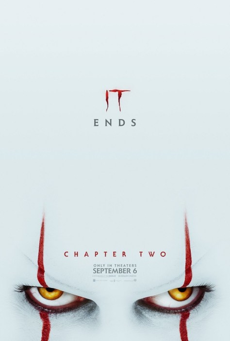 Pennywise Means Business in the Spine-Chilling New Poster for IT: Chapter Two