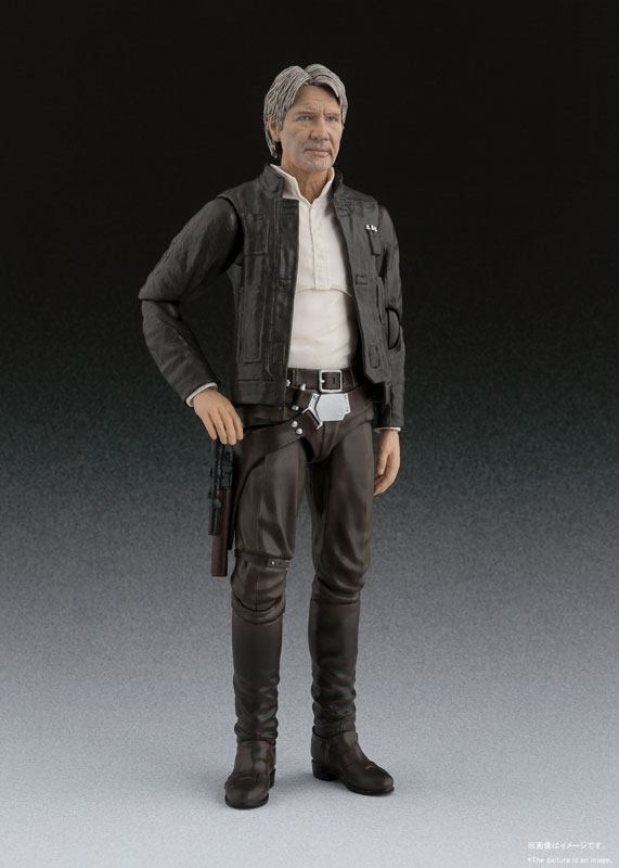 S.H. Figuarts News | Han Solo Star Wars: The Force Awakens in ProductionS.H. Figuarts News | Han Solo Star Wars: The Force Awakens in Production