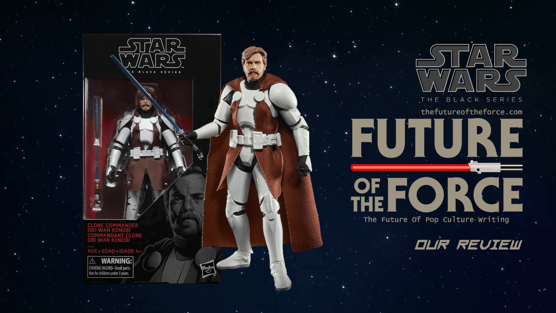 Black Series Review| Clone Commander Obi-Wan Kenobi (Clone Wars) (EXCLUSIVE)