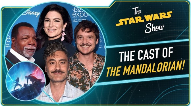 The Star Wars Show | Talking to the Cast of The Mandalorian