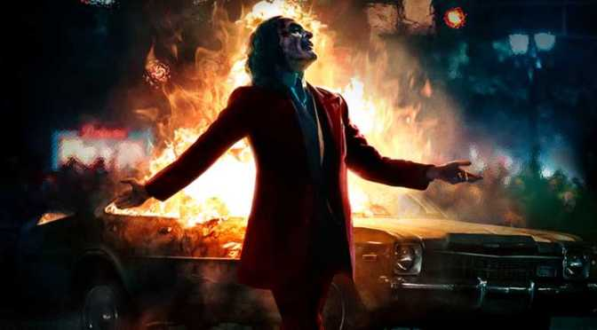 Joaquin Phoenix Basks in Anarchy in Joker IMAX Poster