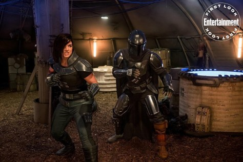 New Image | The Mandalorian and Cara Dune Unite!