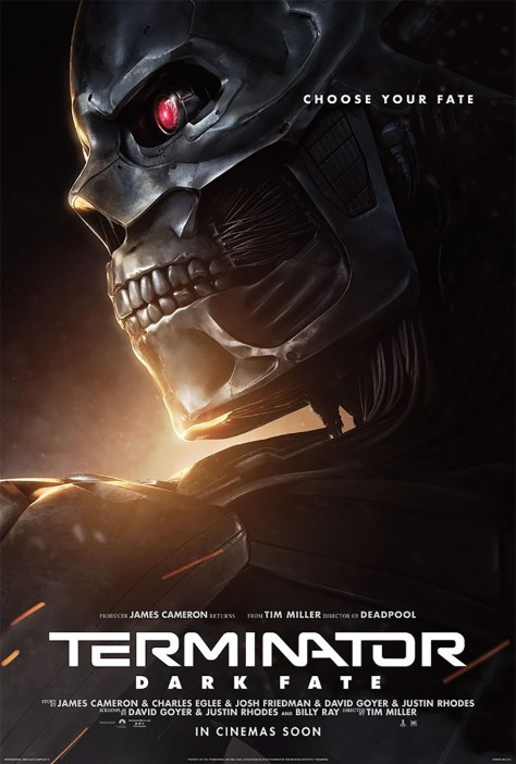 Terminator: Dark Fate Character Posters Emerge Online