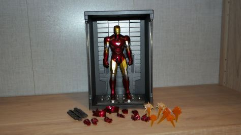 Iron Man Mark VI & Hall of Armor Review 2