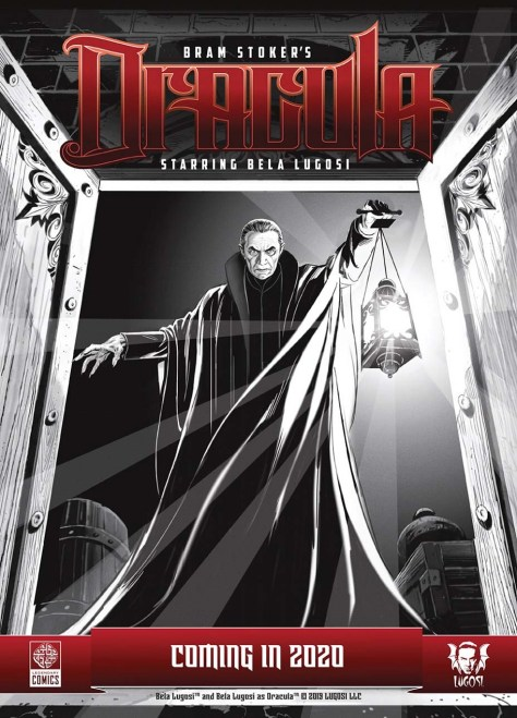 Bela Lugosi Is Back As Dracula in the All-New Legendary Comic