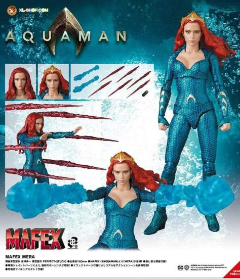 First-Look-Mera-Aquaman-Mafex-Medicom-Toys