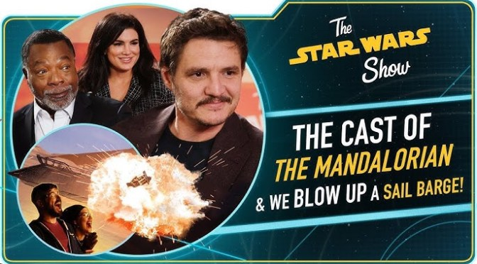 The Star Wars Show | We Talk to The Mandalorian Cast, Plus We Blow Up Jabba's Sail Barge