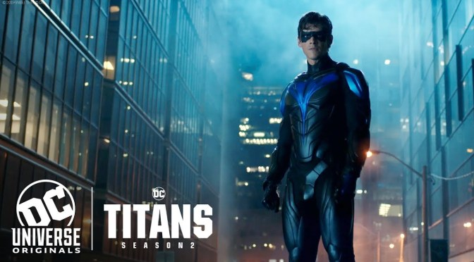 Titans | Robin Falls as Nightwing Rises