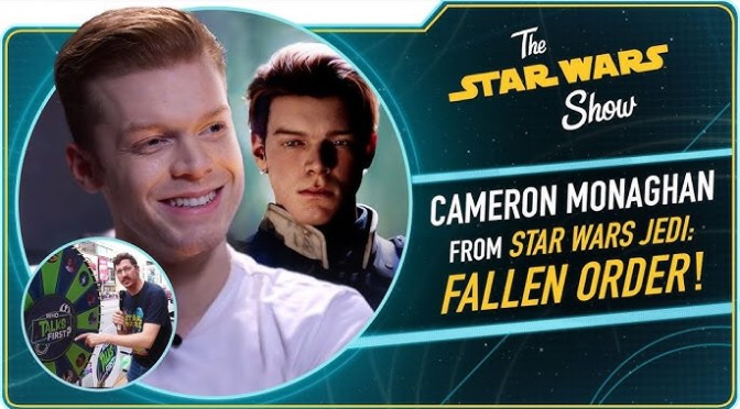 The Star Wars Show | Cameron Monaghan Talks Jedi: Fallen Order, Plus a New Character From The Mandalorian Revealed