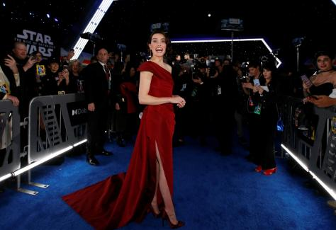 Daisy Ridley at The Rise Of Skywalker World Premiere