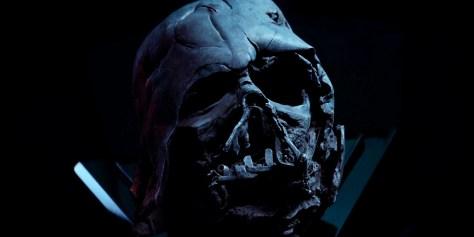 Darth Vader's Burnt Helmet in The Force Awakens