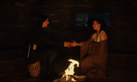 Rey and Kylo Force Bond