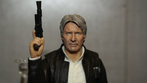 SHF Han Solo Star Wars The Force Awakens Review