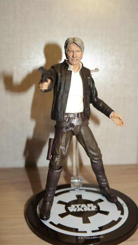 SHF Han Solo Star Wars The Force Awakens Review 2
