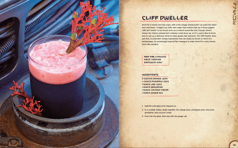 Star Wars Galaxy's Edge Black Spire Outpost Cookbook - Cliff Dweller