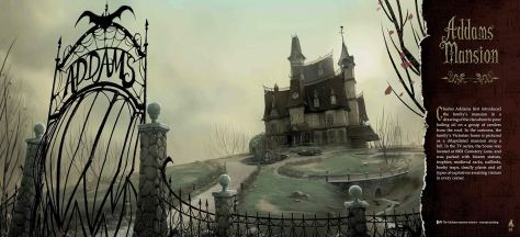 The Addams Family: The Art of the Animated Movie Mansion