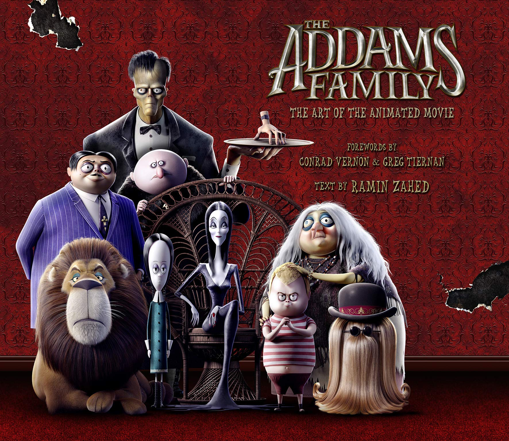 The Addams Family: The Art of the Animated Movie Cover