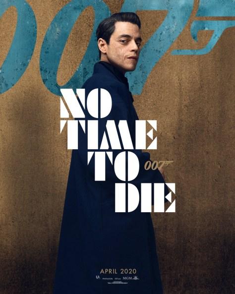 Rami Malek No Time To Die Poster