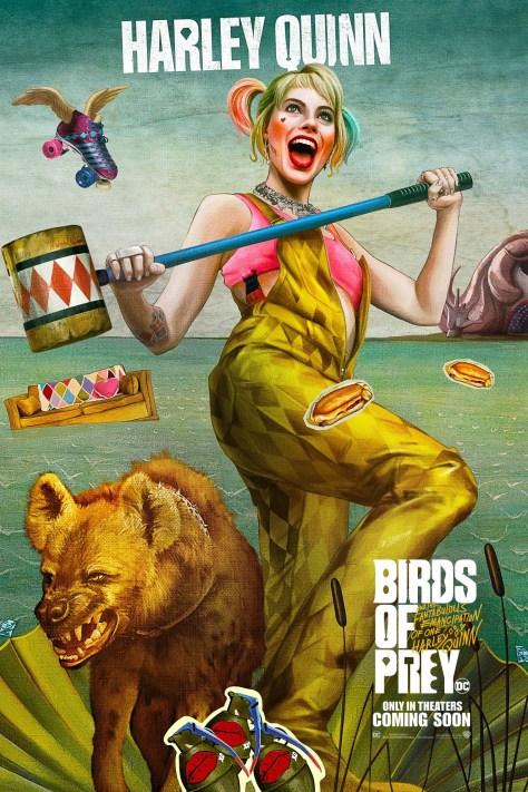 Birds Of Prey Harley Quinn Poster