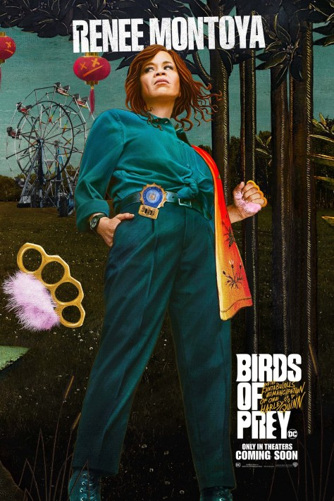 Renee Montoya Birds Of Prey Poster