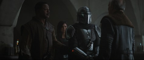 Review | The Mandalorian Chapter 7 Greef and Mando