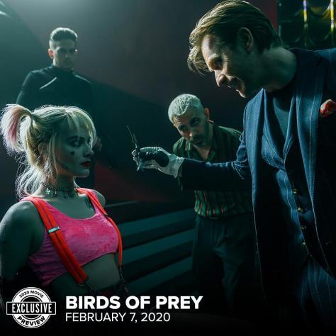 Birds Of Prey Fandango Preview
