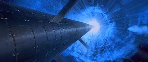 Emperor Palpatine Falls - Star Wars Return of the Jedi