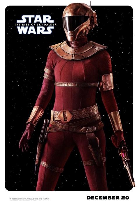 Zorii Bliss Star Wars The Rise Of Skywalker Poster