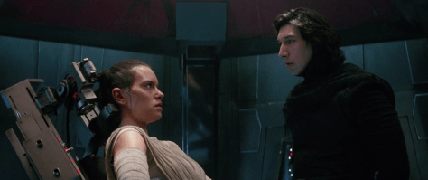 Kylo Interrogates Rey - Star Wars: The Force Awakens