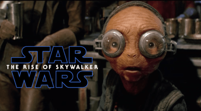Star Wars | Maz Kanata Was Fully Animatronic in The Rise Of Skywalker