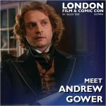 Andrew Gower London Film & Comic Con 2020