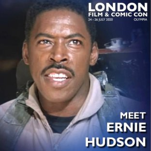 Ernie Hudson London Film & Comic Con 2020