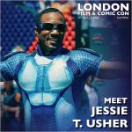 Jesse T. Usher London Film & Comic Con 2020