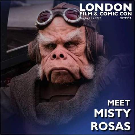 Misty Rosas - London Film & Comic Con 2020