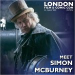 Simon McBurney London Film & Comic Con 2020