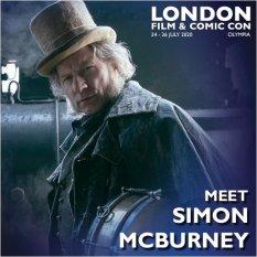 Simon McBurney London Film & Comic Con 2020