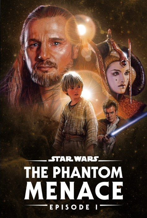 Star Wars The Phantom Menace Disney Plus Poster