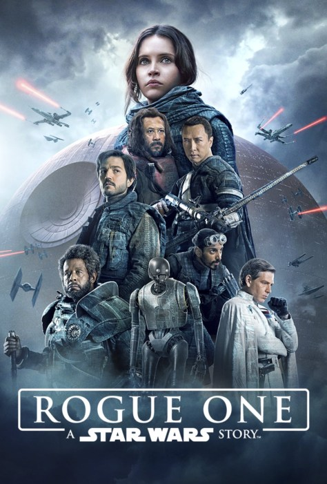 Rogue One: A Star Wars Story Disney Plus Poster