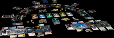 Star Wars Outer Rim Game Board