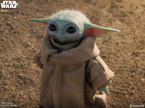 Sideshow's Life-Size Baby Yoda is Now Available To Pre-Order