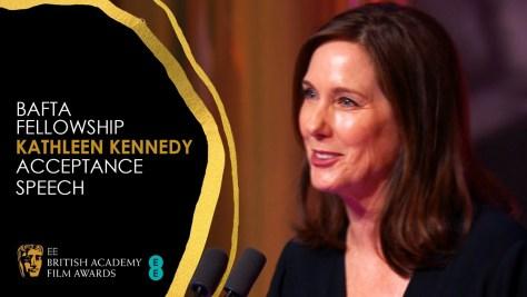 BAFTA Fellowship Kathleen Kennedy