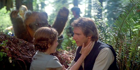 Leia and Han - Star Wars Return of the Jedi