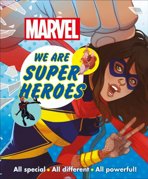Marvel: We Are Superheroes Book Review