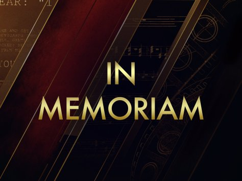 Oscars 2020 - In Memoriam