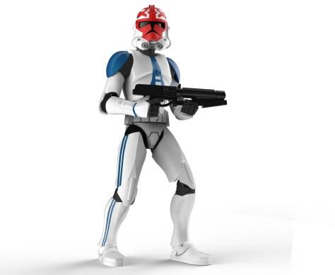 Star Wars Galaxy Of Adventures - Ahsoka's Clone trooper 1