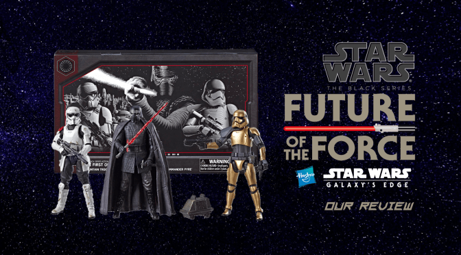 Black Series Review | Star Wars: Galaxy's Edge First Order Pack (EXCLUSIVE)